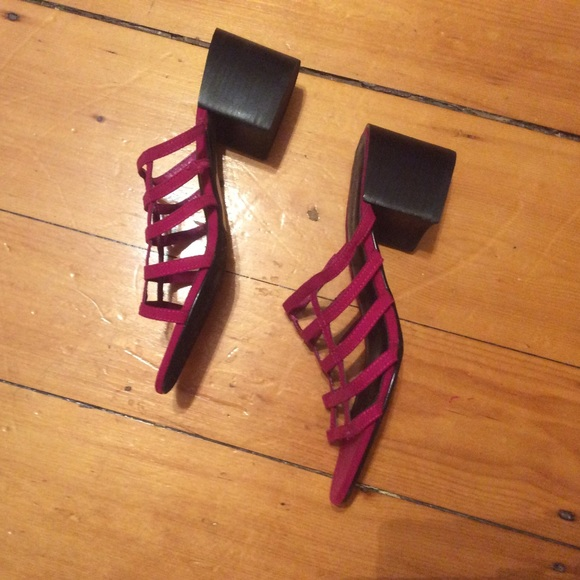Urban Outfitters Shoes - Never Worn Block Sandals
